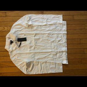 Women's Tommy Hilfiger LS Polo shirt. White, NWT